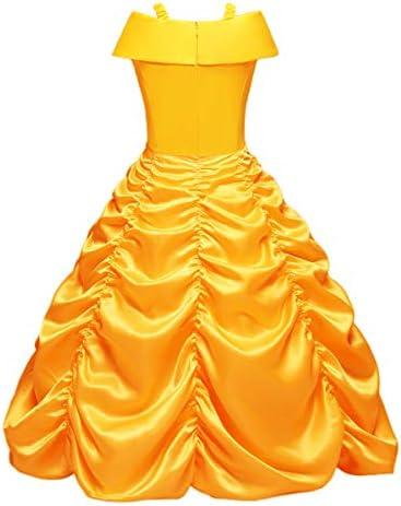 OBEEII Bella Disfraz Belleza Carnaval Traje de Princesa para ...
