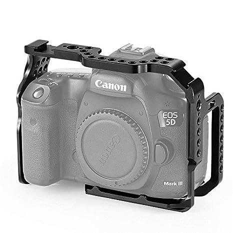 SMALLRIG Cage Jaula para Canon 5D Mark III/IV - CCC2271: Amazon.es ...