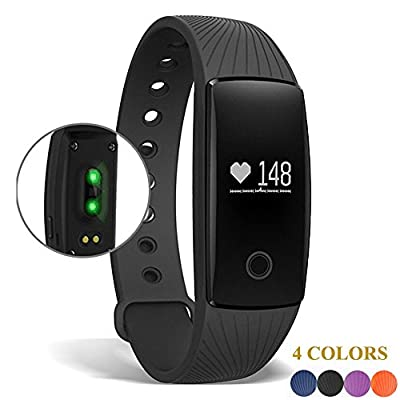 Smart Bracelet , AEDILYS Bluetooth 4.0 Smart Bracelet Smart Band Heart Rate Monitor Dynamic Wristband Pedometer Smart band Bracelet Fitness Tracker for IOS Android