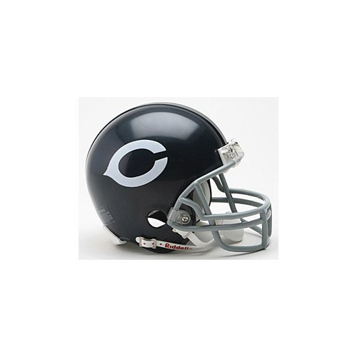 (Riddell Chicago Bears 1962-1973 Throwback Replica Mini Helmet with Z2B Mask)