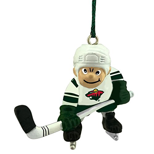 Final Touch Gifts Minnesota Wild Player Christmas Ornament