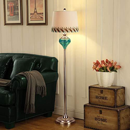 (B.YDCM American Floor Lamp Living Room Bedroom Mediterranean Simple European Floor Lamp Table Decoration -547 Floor lamp)