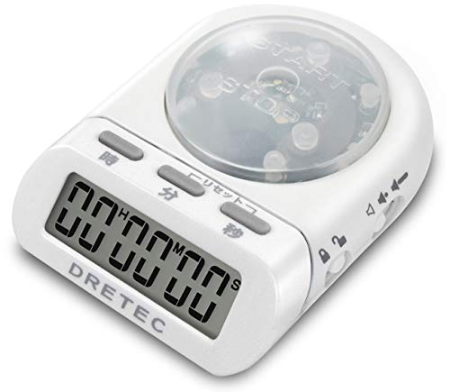 (DRETEC digital timer time up white T-186WT)