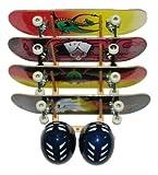 Skateboard Display 4 Space Angle