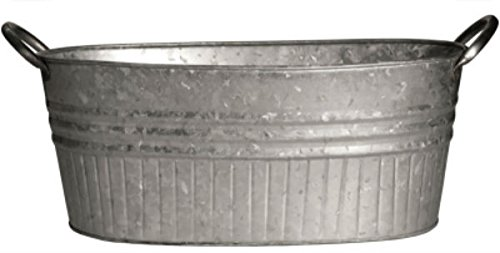 (Robert Allen Mpt01646 Oval Tub Tapered With Handles, 24