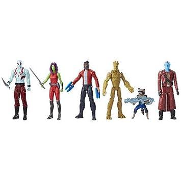 f4de2df9a52c Marvel – Guardians of The Galaxy – Titan Hero Series – Pack 6 Figurines 30  cm