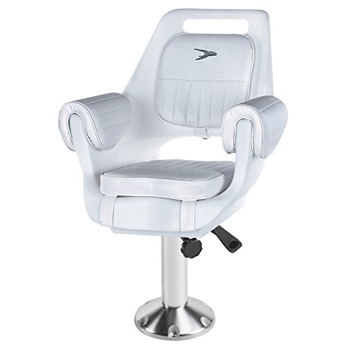 Wise 8WD007-8-710 Deluxe Pilot Chair with Fixed Height Pedestal and Seat Mount