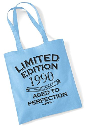 Shopping Gift Fun Aged Limited Present Birthday Cotton Tote 1990 Perfection Year Bag Edition To xAqqIH