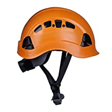 MonkeyJack Safety Rock Climbing Helmet Mountaineering Tree Arborist Kayak Abseiling Downhill Rescue Aerial Work Equipment - Choice of Color