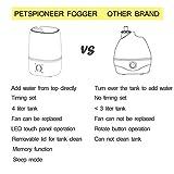 PETSPIONEER Reptile Humidifier Digital Timing Fog