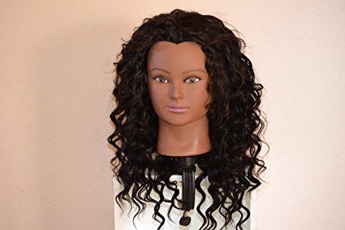 Handmade Wig - Brazilian Halfwig loose wave Human Hair 8A Natural Color 16-16-16 by Chezlilika