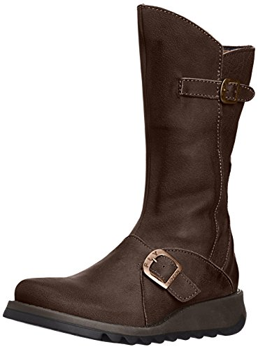 Mes Fly 2 London Brown Women Boots Dark 001qn5wr