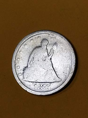 1875 -S SILVER TWENTY CENT PIECE-AFFORDABLE DESIRABLE ISSUE-VERN'S CARD & COIN Twenty Cent Piece Ag-g