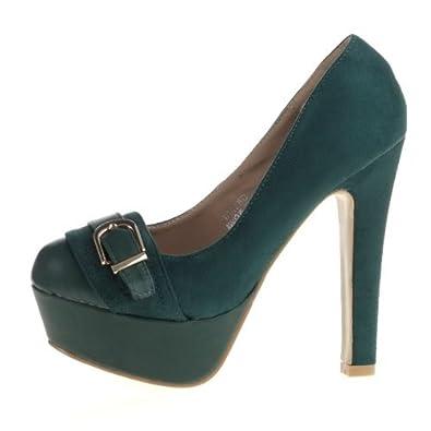 High Heels Pumps grün Gr. 40