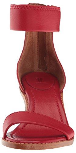 Back Dress Brielle Women's Frye Sandal Poppy Zip xvqUR6Anw