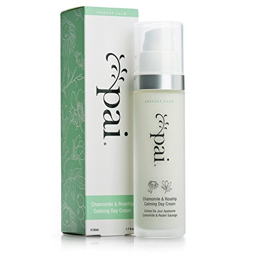Pai Skincare Chamomile & Rosehip Calming Day Cream, Anti-Redness Moisturizer for Hypersensitive - Day Care Cream Skin Rose