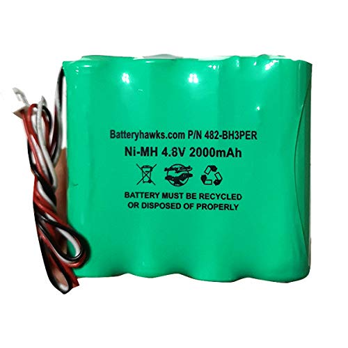 6033510 552096 OM11484 Chatillon Force DFE Series 4.8v 2000mAh Ni-MH Battery Pack Replacement Batteryhawk, LLC