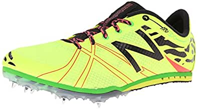 New Balance Women's WMD500V3 Middle Distance Spike Shoe,Yellow/Black,11 B US