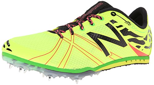 - New Balance Women's WMD500V3 Middle Distance Spike Shoe,Yellow/Black,11 B US