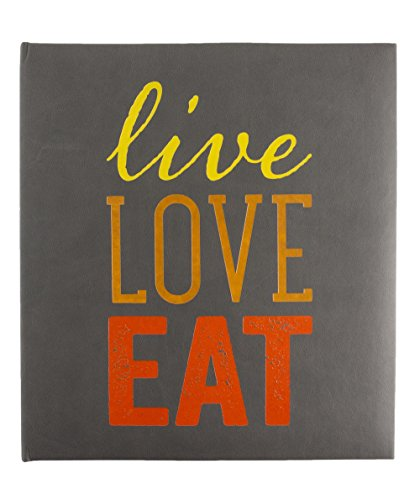 Eccolo Recipe Keeper, Live Love Eat by Eccolo