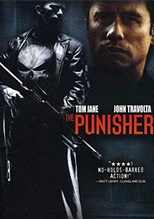 amazon com the punisher thomas jane john travolta samantha