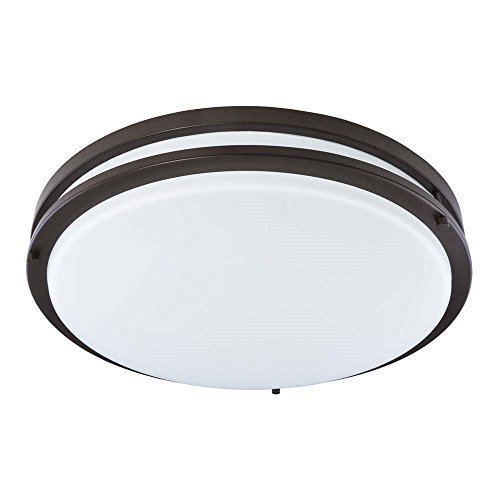 Good Earth Lighting Jordan 11-inch LED Flush Mount Light - Bronze