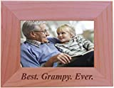Best CustomGiftsNow Son Evers - CustomGiftsNow Best Grampy Ever - Engraved Wood Picture Review