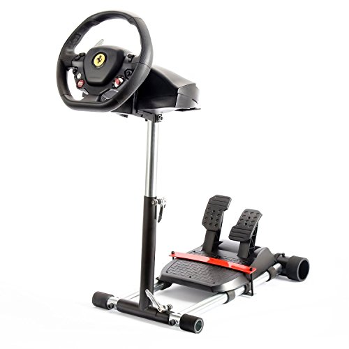 F458 Racing Steering Wheelstand Black for Thrustmaster 458 (Xbox 360 Version), F458 Spider (Xbox One), T80, T100, RGT, Ferrari GT and F430; Original Wheel Stand Pro V2 Stand: Wheel/Pedals Not included