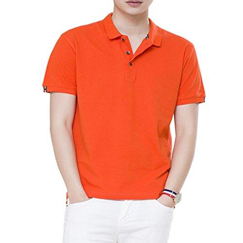 SHEYA ポロシャツ 無地 メンズ poloシャツ 半袖 スポーツ サッカー ゴルフ ゴルフウェア 大きいサイズ 春 夏