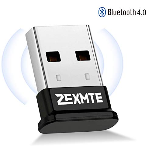 Bluetooth Adapter for PC Bluetooth 4.0 USB Wireless Dongle Compatible with PC Desktop Computer with Windows 10 8.1 8 7 Vista XP, Low Energy Micro Adapter (Best Bluetooth Dongle Windows 8)