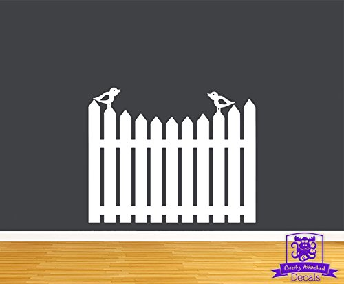 (Picket Fence with Birds 24