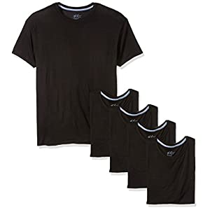 Hanes Men's 5-Pack X-Temp Comfort Cool Dyed Crewneck Undershirt