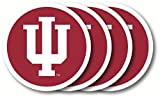 Duck House Indiana Hoosiers Official NCAA 10 inch x 7.5 inch Coaster Set Pack by 484198