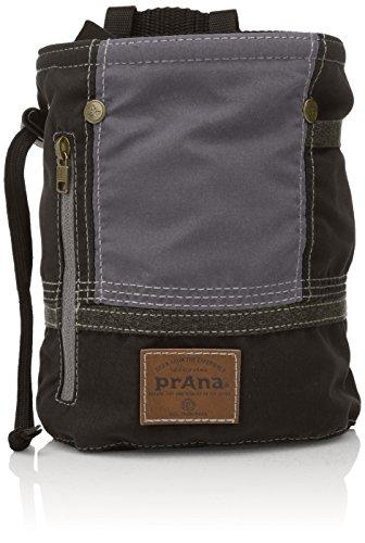 prAna Color Block Chalk Bag, One Size, Black (Prana Chalk Bag)