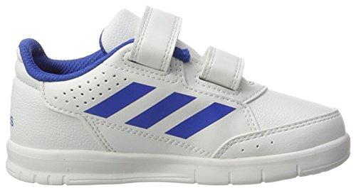 adidas Altasport Cf, Zapatillas para Niños Multicolor (Ftwr White/blue/ftwr White)