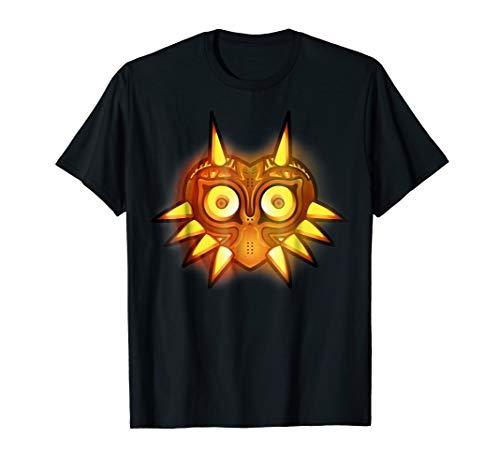 Nintendo Zelda Majora Mask Halloween Graphic T-Shirt