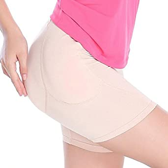 b292d8dab5c MaxTara Silicone Padded Panties Shapewear Bum Butt Hip Enhancer Underwear  Knickers  Amazon.co.uk  Clothing