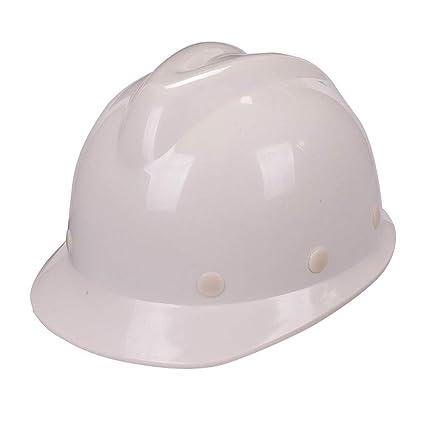 JH& Amplio Casco ABS De Seguridad Para El Trabajo, Casco De Seguridad Seguro De Trabajo