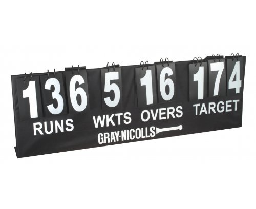 Gray Nicolls 923202 Portable Cricket Score Board by Gray Nicolls