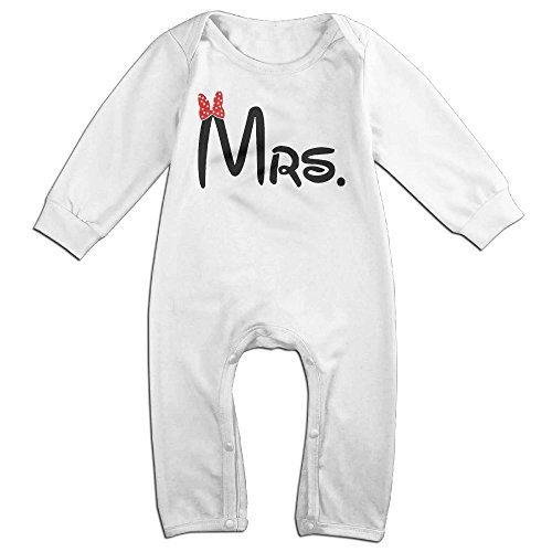 Mrs Matching Couples Funny Newborn Onesie Bodysuit (Mrs Potato Shirt)