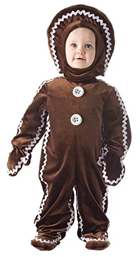 Underwraps Baby's Gingerbread, Brown, Large