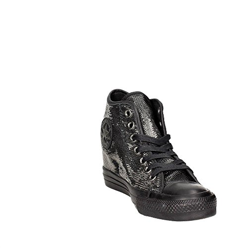 Mid CONVERSE Sneakers Nero Ctas Lux Silver 559048C Nero Metallic rvxwvE