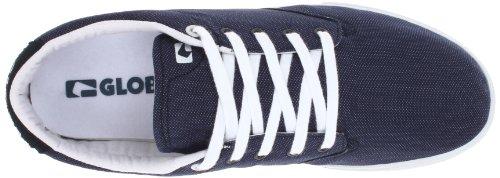 Globe Heren Vuurtoren-slanke Skate Schoen Marine / Wit / Echt Rood