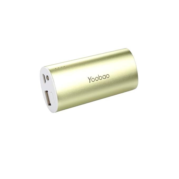 Yoobao batería externa YB6012 5200 mAh cargador portátil ...
