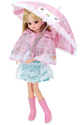 Licca-chan dress My Melody raincoat and umbrella set - Licca Dress Set