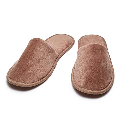 Adult Cottonage Chocolate Slippers Toe Closed Terry Dark AHRCqwHd
