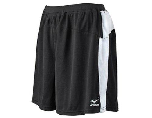 Mizuno Looseフィットバレーボールショート B001TU87LY ブラック/ホワイト X-Small