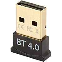 Rosewill Bluetooth 4.0 USB Adapter, lower Energy Micro Adapter for Windows 10, 8.1, 8, 7, Raspberry Pi; Classic Bluetooth, and Stereo Headset, Plug and Play Bluetooth Adapter (RNX-BT401)