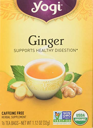 Yogi Tea - Ginger Tea, 16 bag (Yogi Ginger)