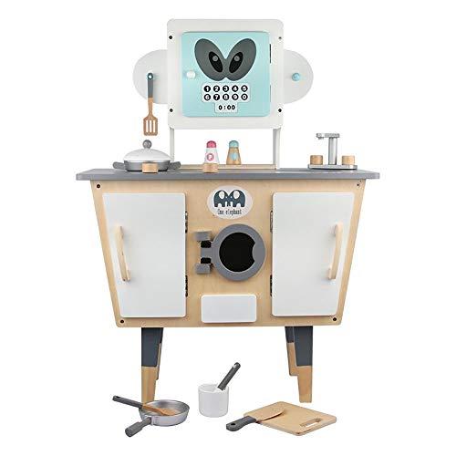 Juguetes para la Cocina Modelado Robot de Cocina Set de Juego Juego de rol niños Pretend Cooking Set Juguetes de Madera for niños Juego de los niños Juego de Cocina: Amazon.es: Hogar